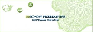 """Bioeconomy in our daily life- webinar: """"Climate change, damaged wood, falling prices: with bioeconomy out of the crisis"""""""